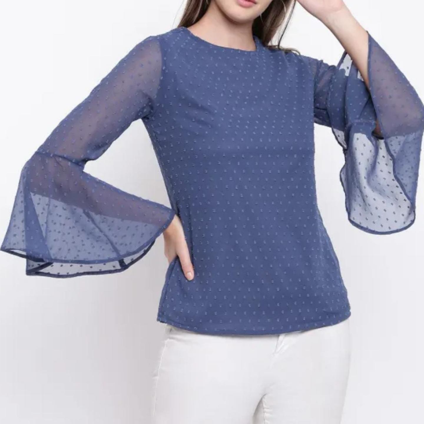 Bell sleve top