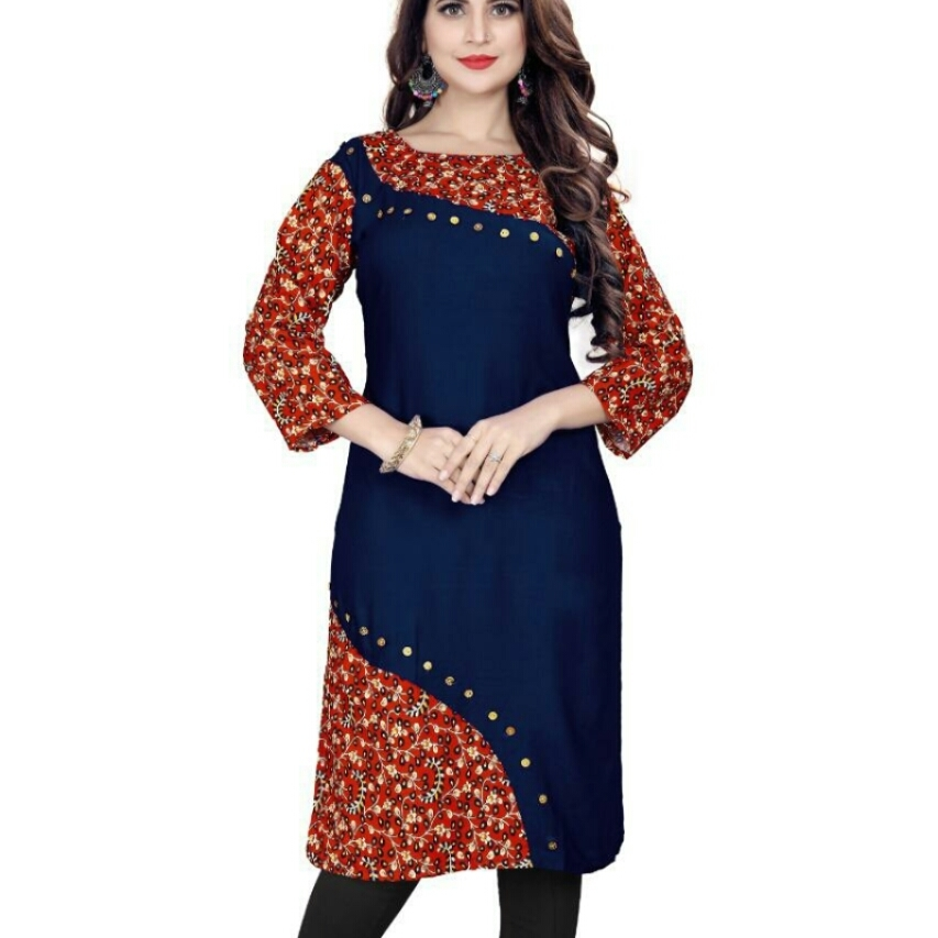 SELFIE EXPERT RAYON KURTI Whatsaap us for more colors.