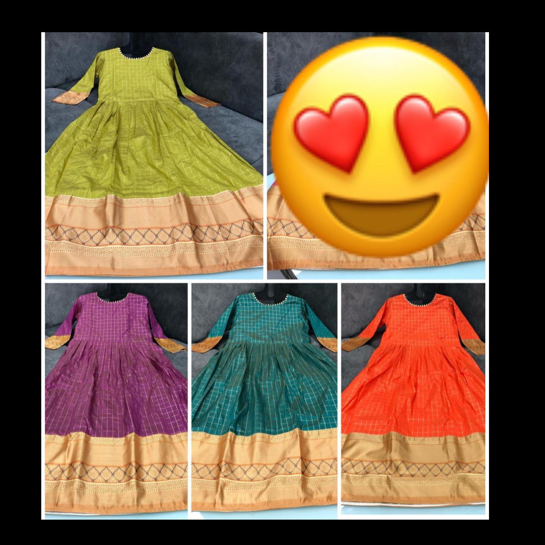 💥New Luxurious lubiyaZari silk gown 2020💥*