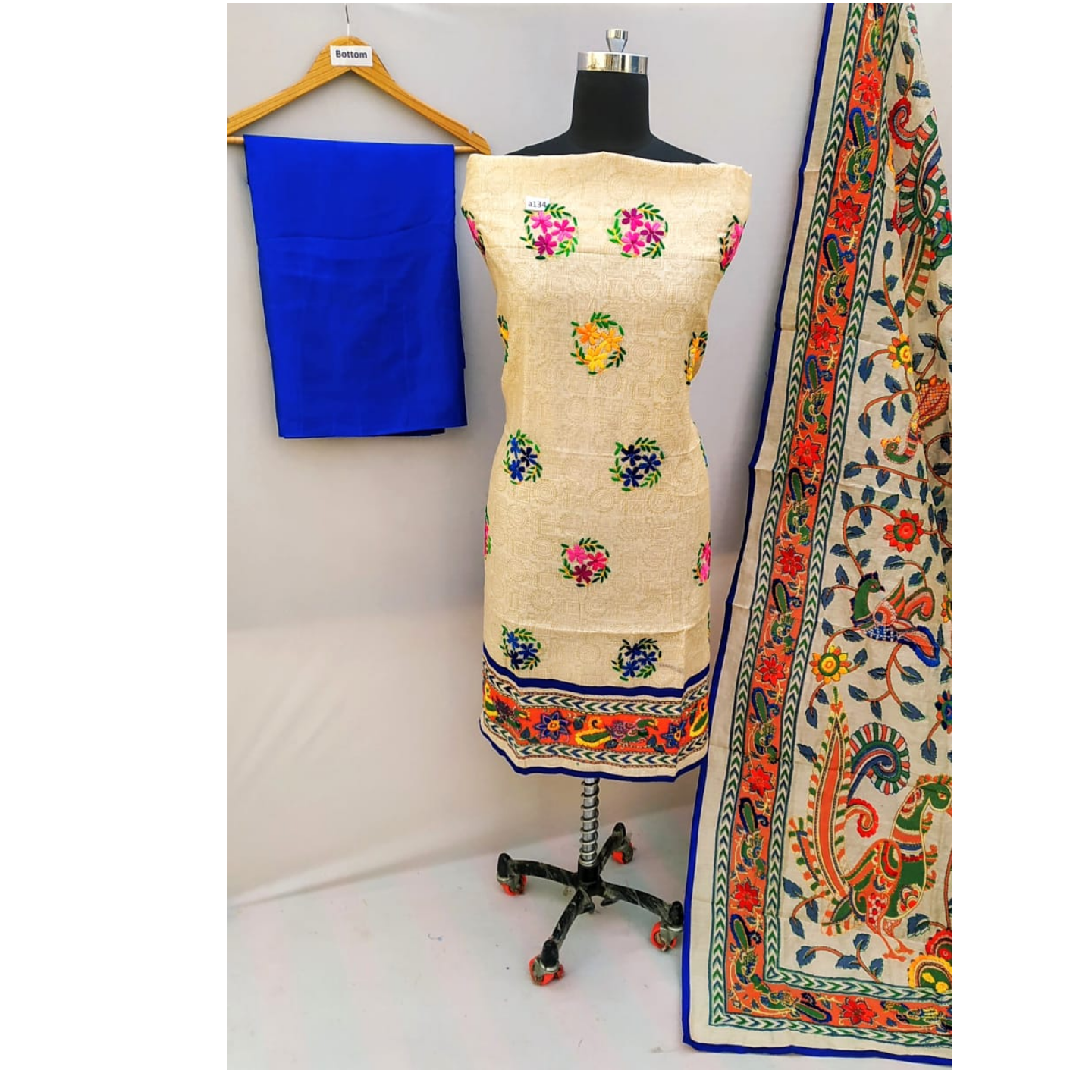 Handicrafted Madhubani Suits