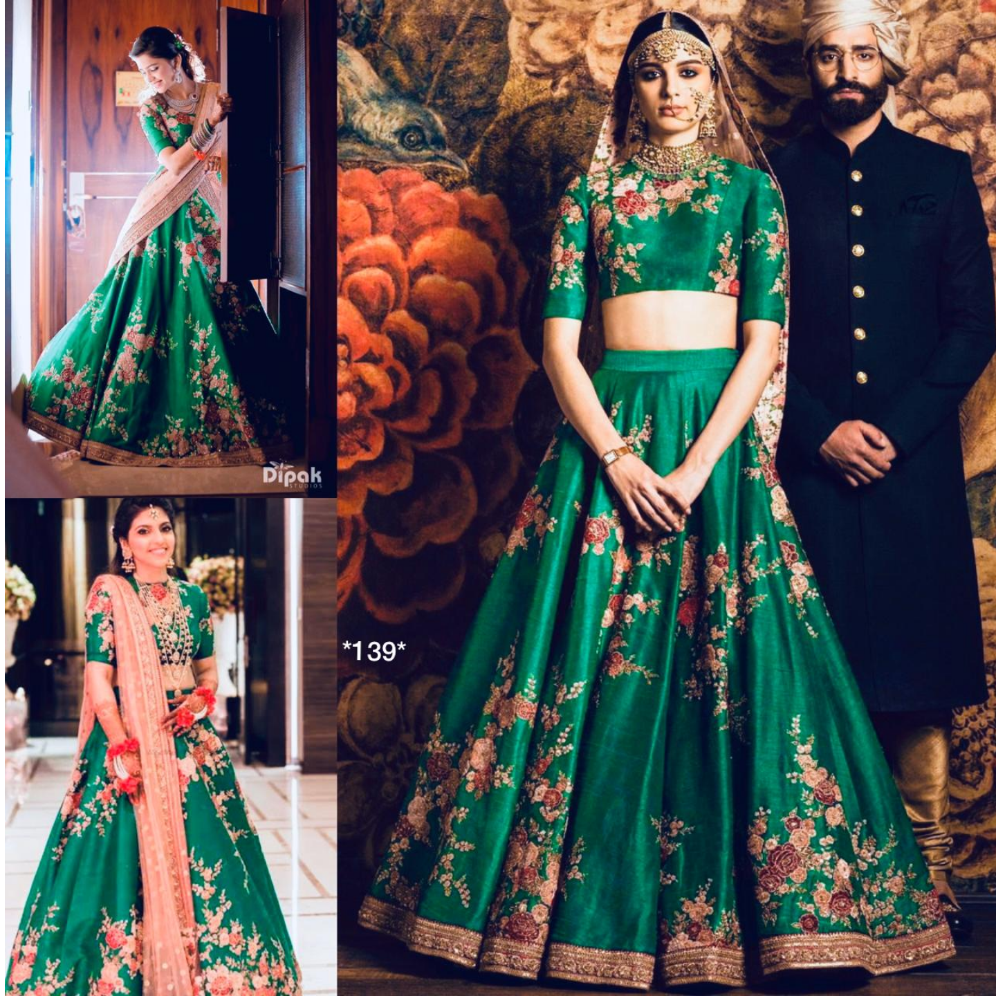 LEHNGA SATIN BANGLORI WITH CODING SEQUENCE WORK ZOYA