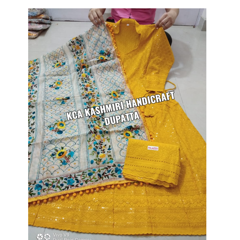 KCA's Anarkali Kashmiri Dupatta*
