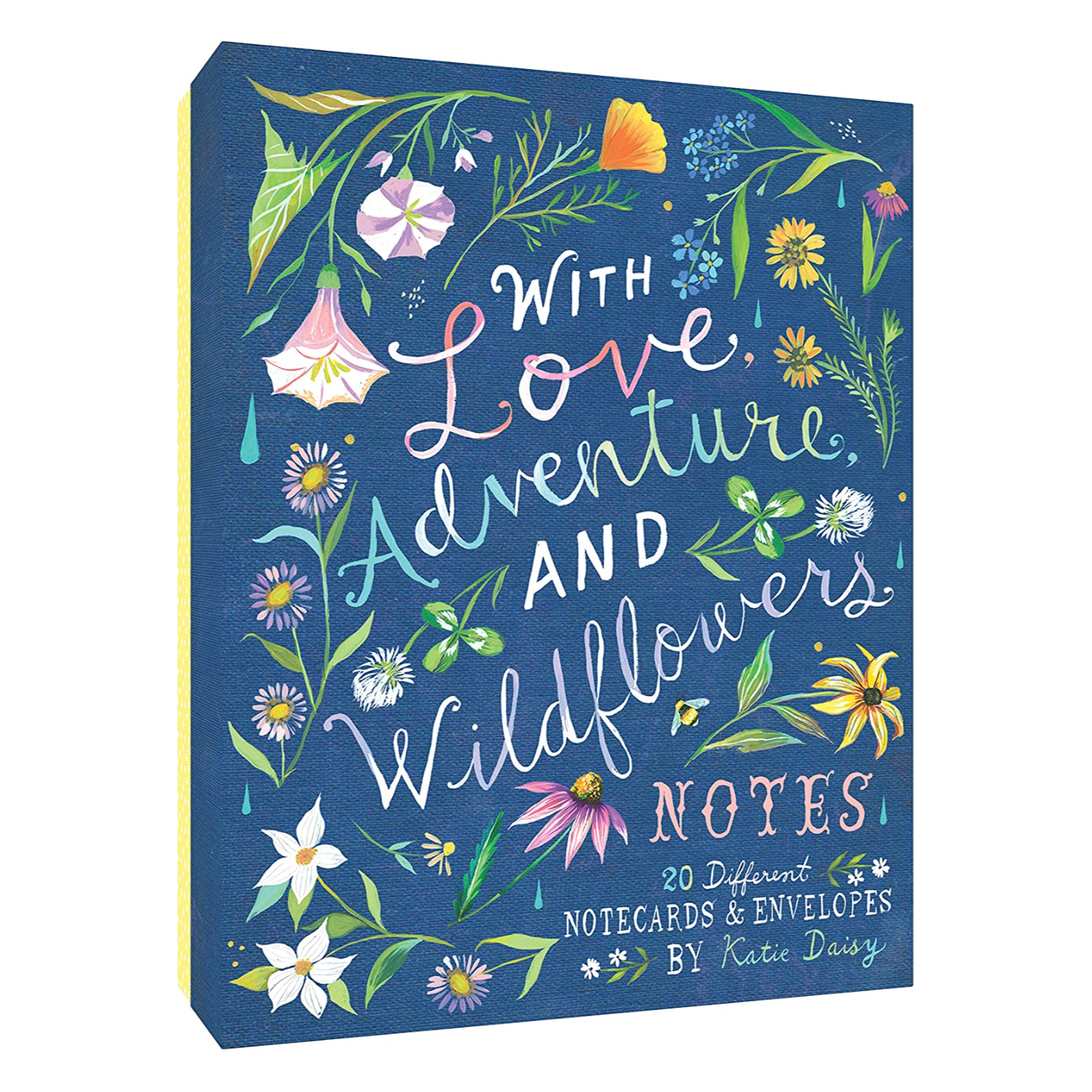WITH LOVE, ADVENTURE AND WILDFLOWERS Notes Chronicle