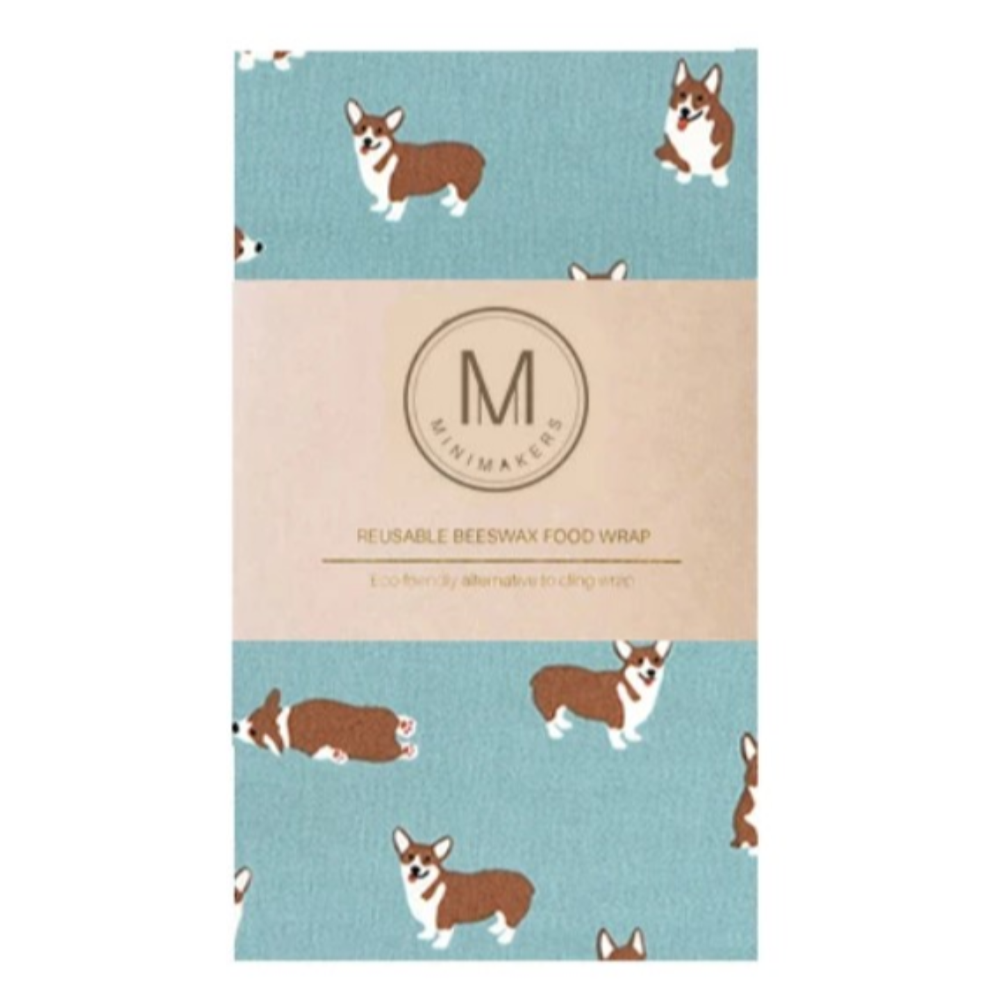 CORGIS Premium Cotton Beeswax Wrap Minimakers