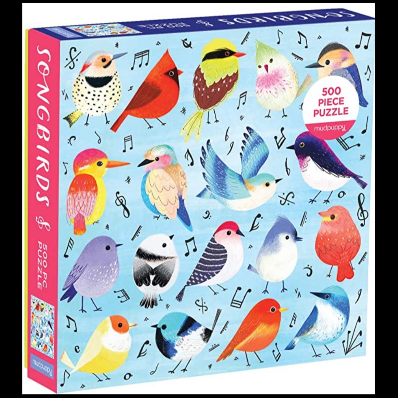 SONGBIRDS 500 Piece Family Puzzle
