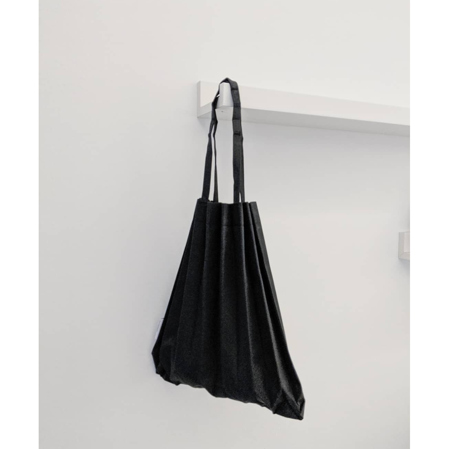 MINI PLEATS BAG in Black Shop Boonniee