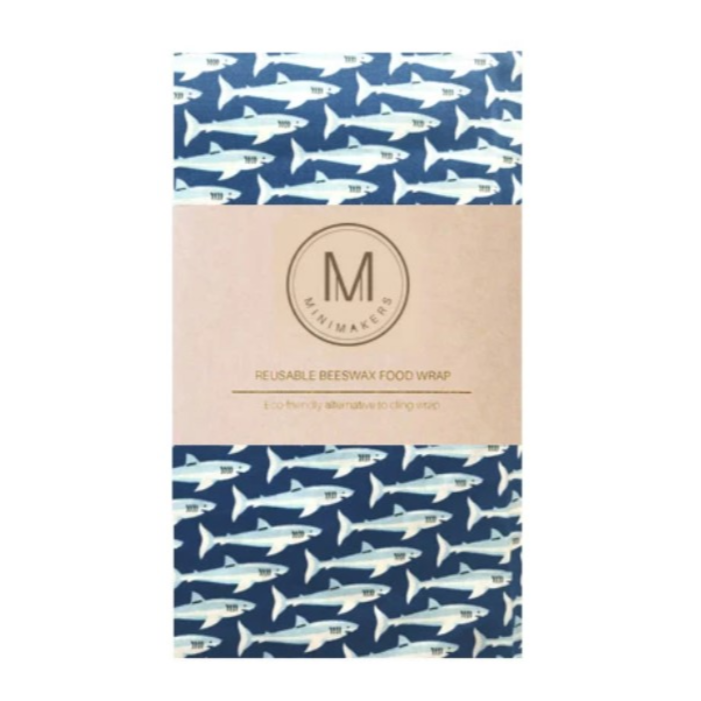 SHARKNADO Premium Cotton Beeswax Wrap Minimakers