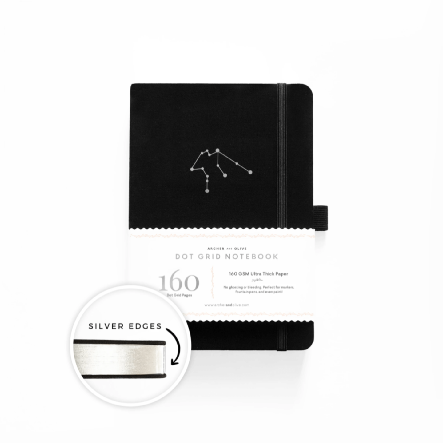 AQUARIUS Zodiac Notebook Revel