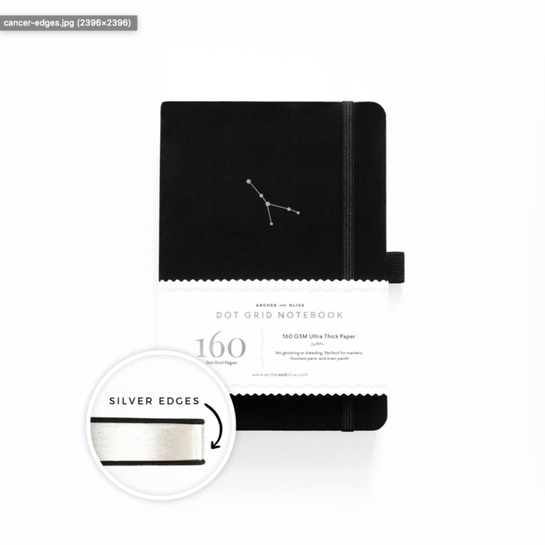 CANCER Zodiac Notebook Revel