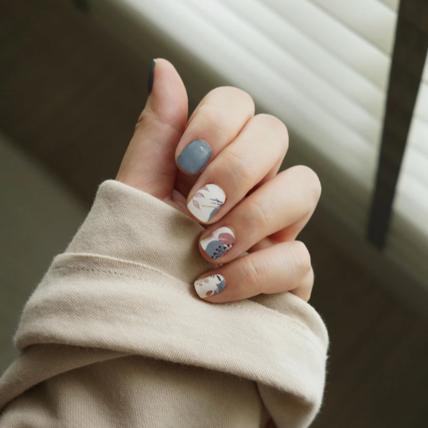 KEEP CALM AND BREATHE Nail Wrap Freshly Wrapped
