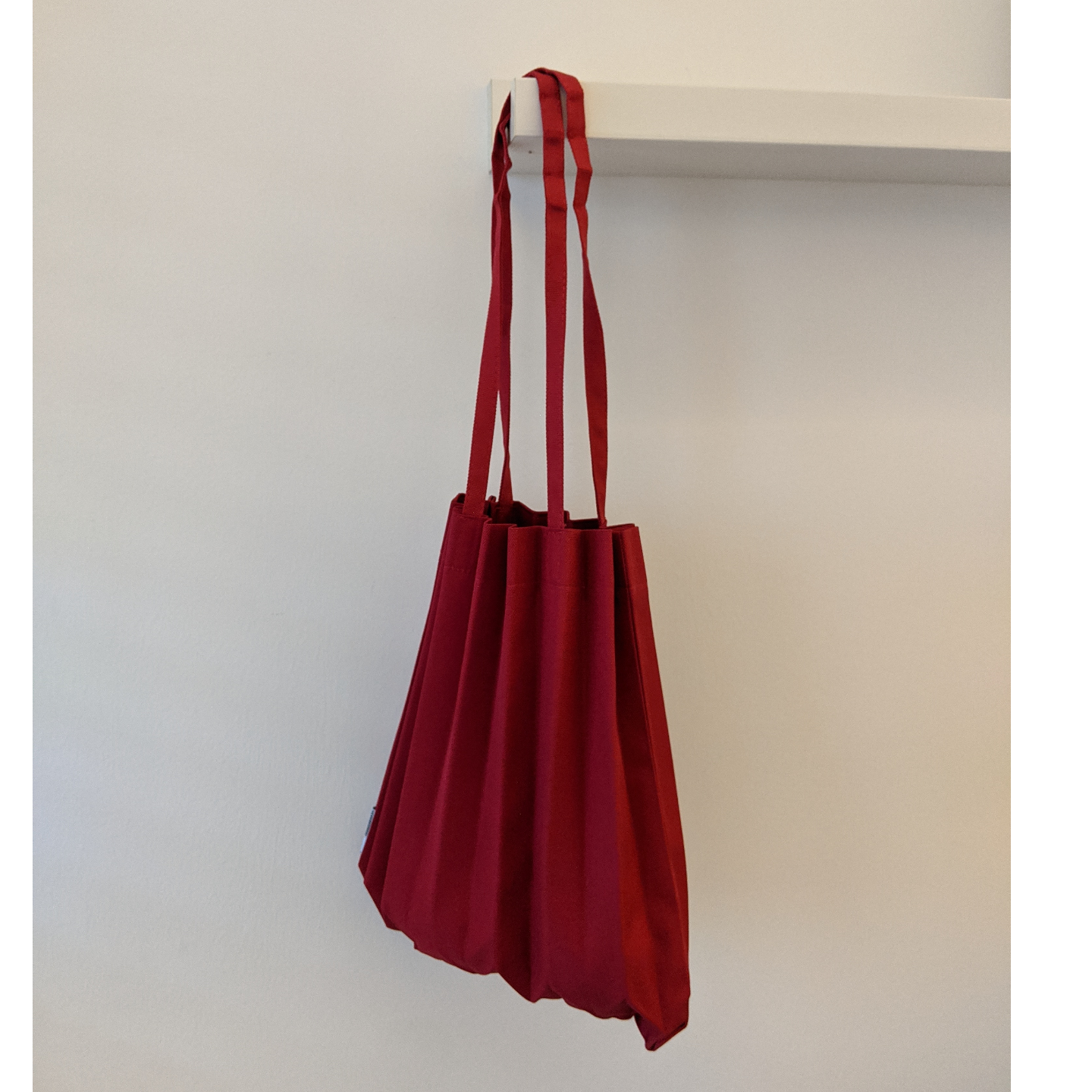 MINI PLEATS BAG in Red Shop Boonniee