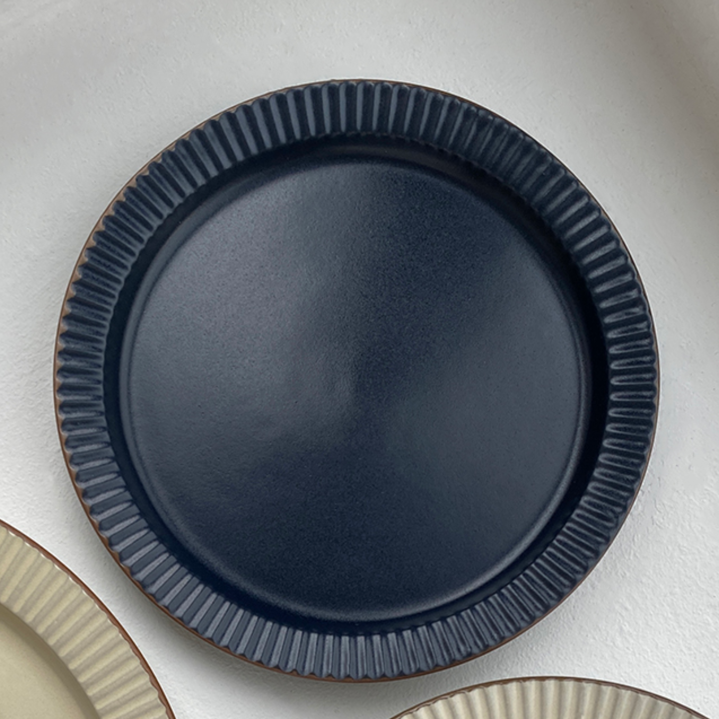 RIBBED Plate 6 Hello Hjem