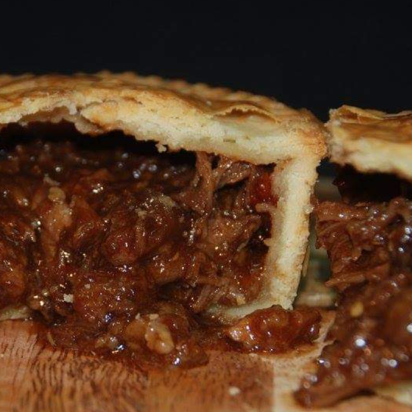 Braised Pork Pie