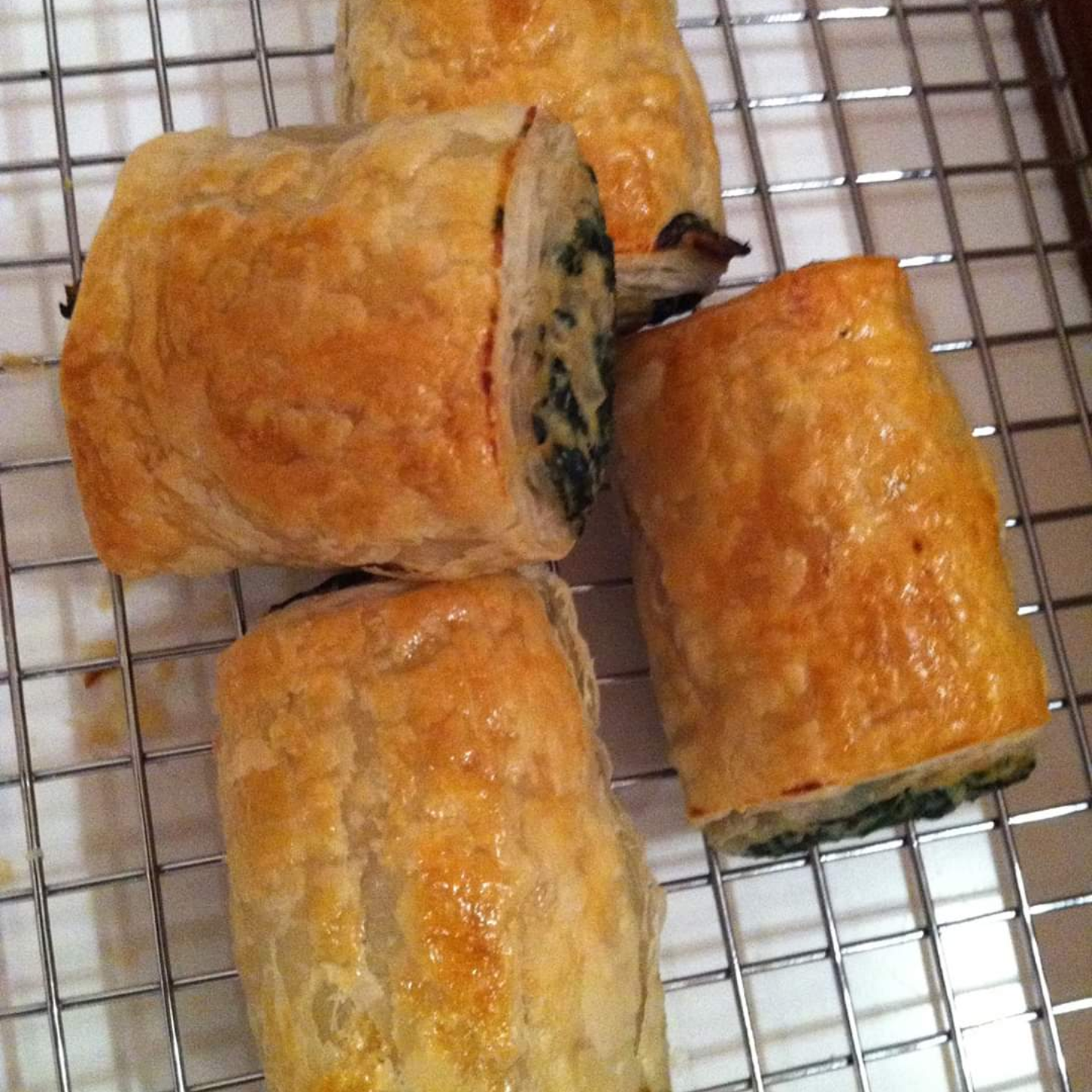 Spinach & Cheese Roll