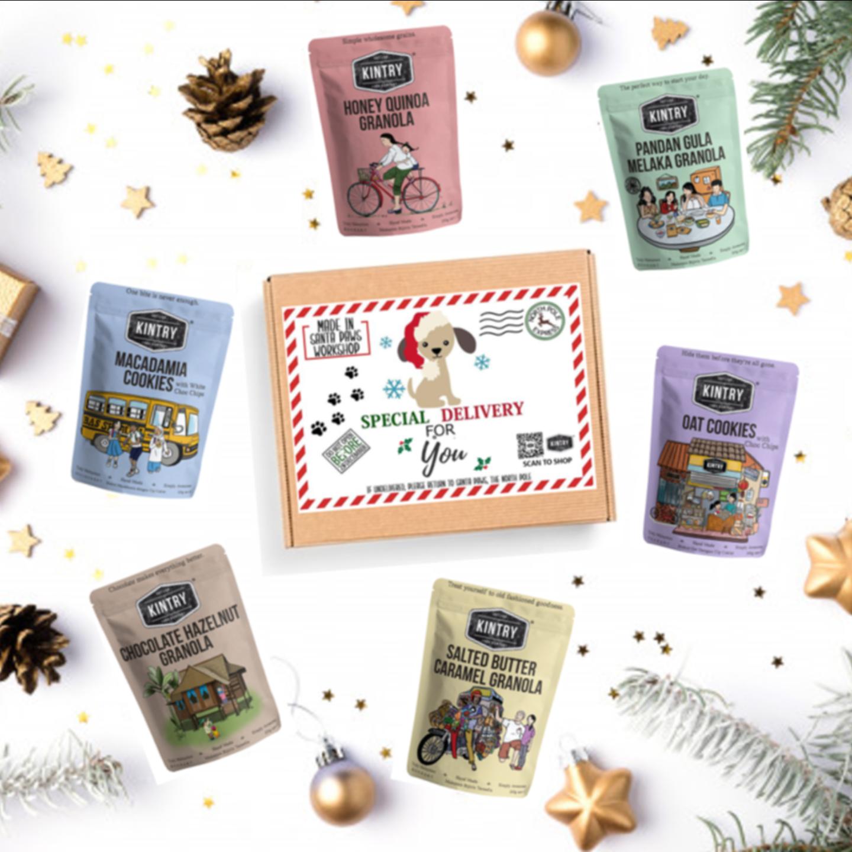 KINTRY Christmas Gift Box A
