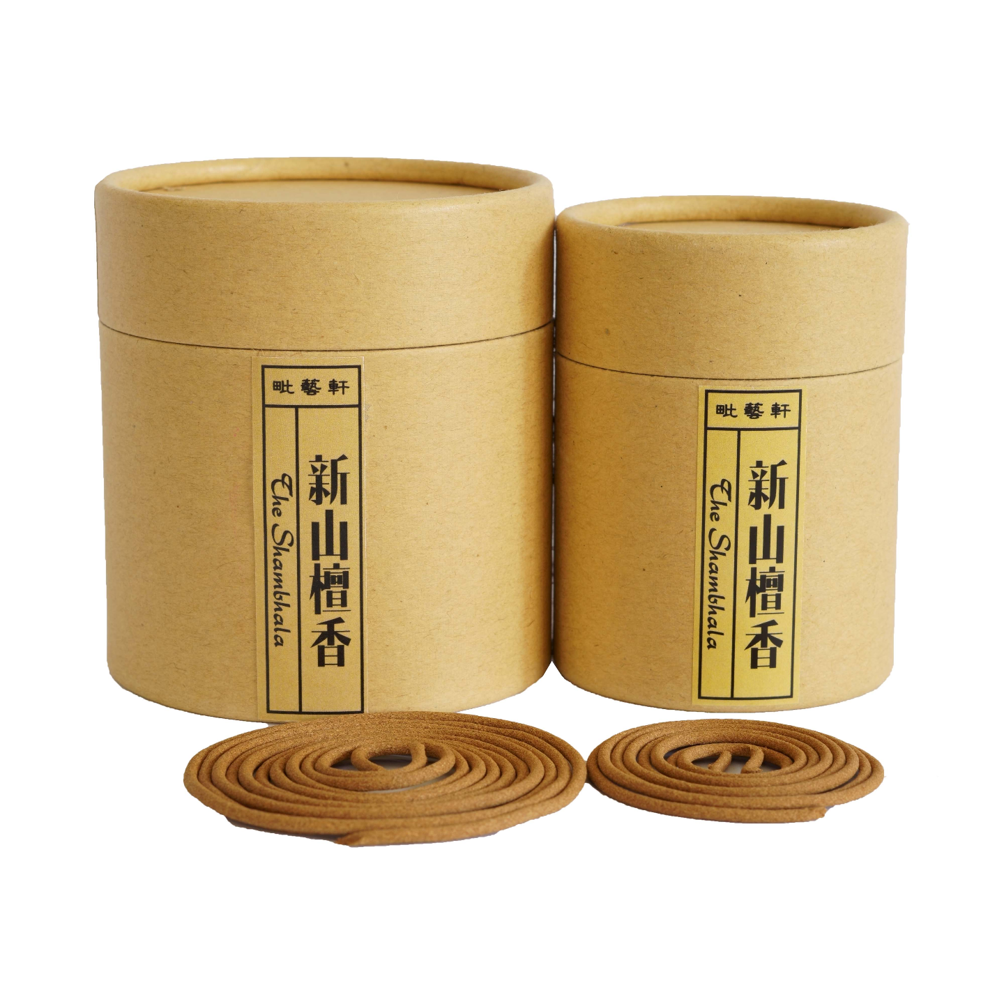 Sandalwood Incense Coils 新山檀盘香