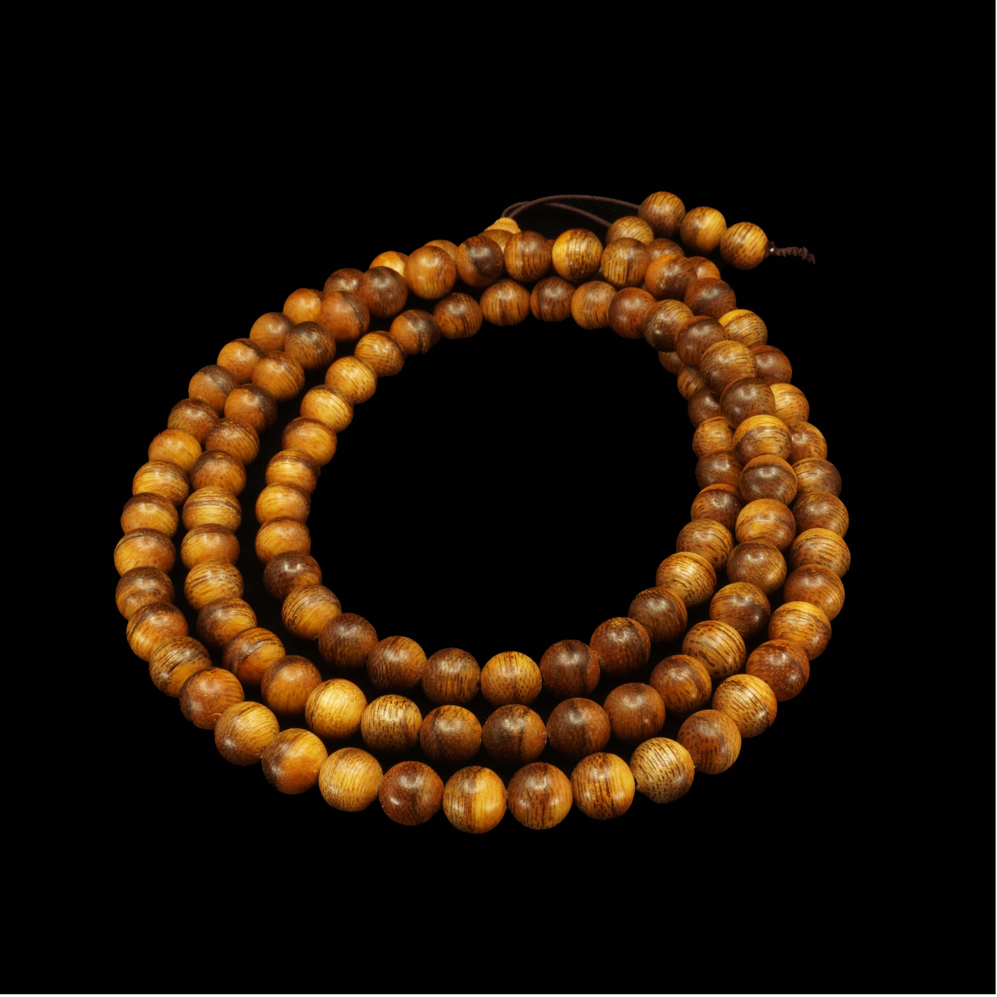Agarwood Mala Beads - 8mm