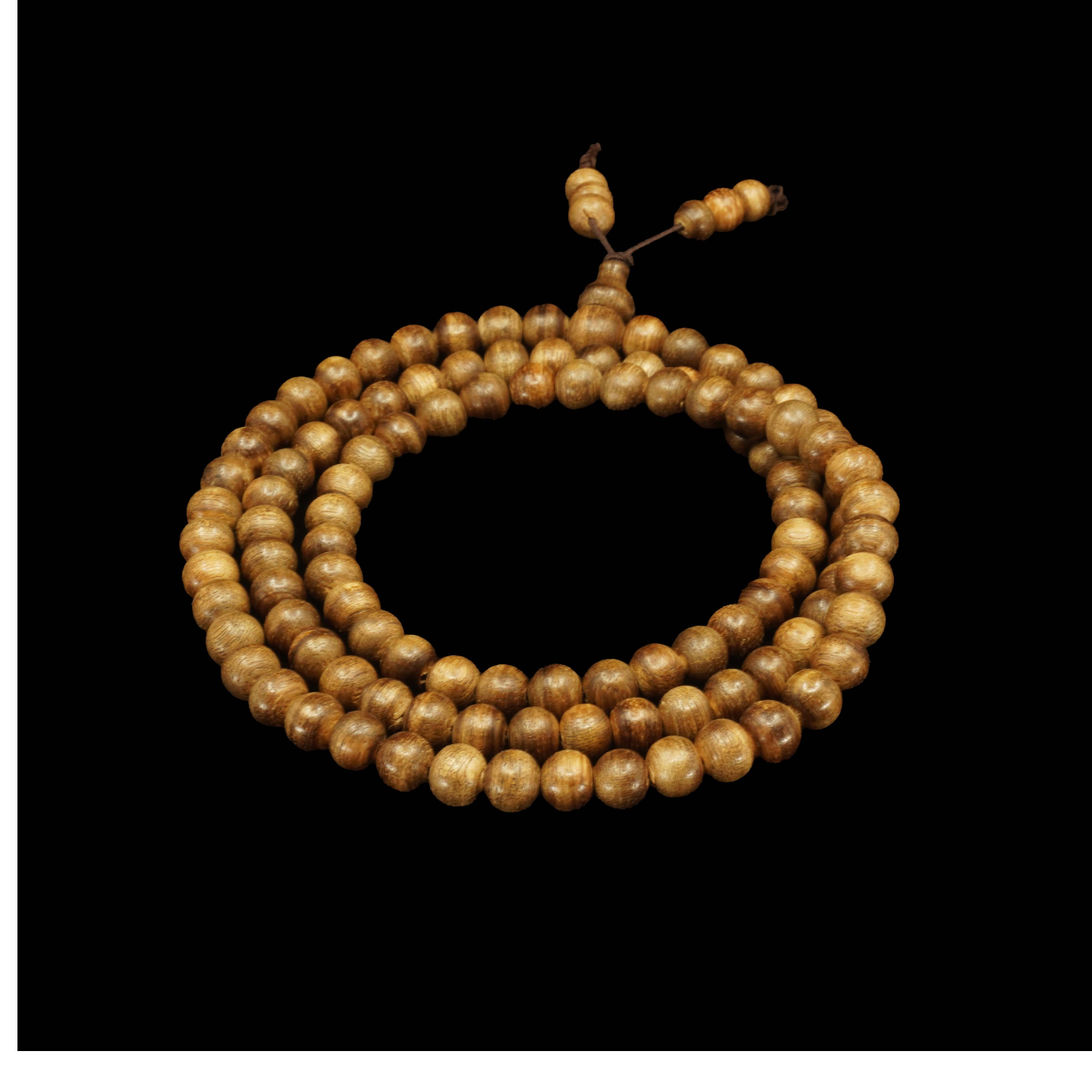 Agarwood Mala Beads - 6mm