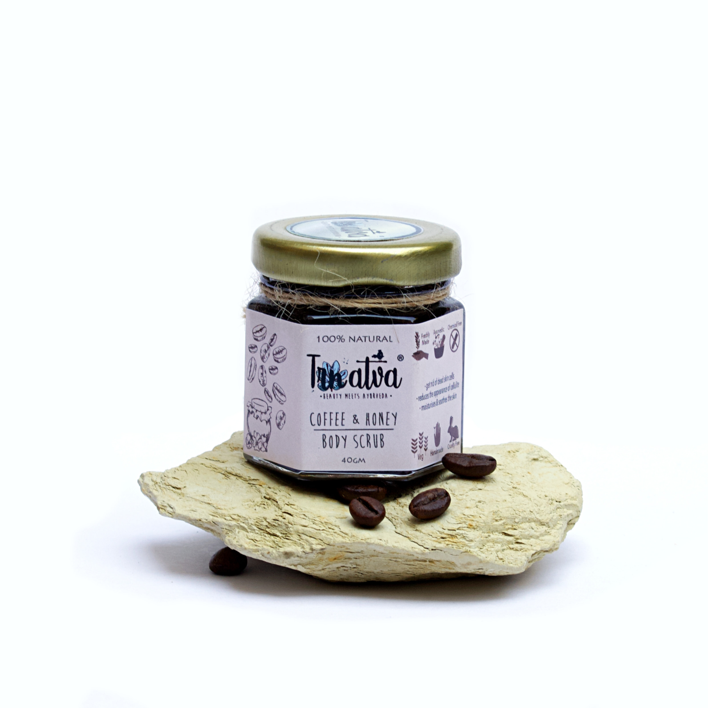 Coffee & Honey Body Scrub - 40g