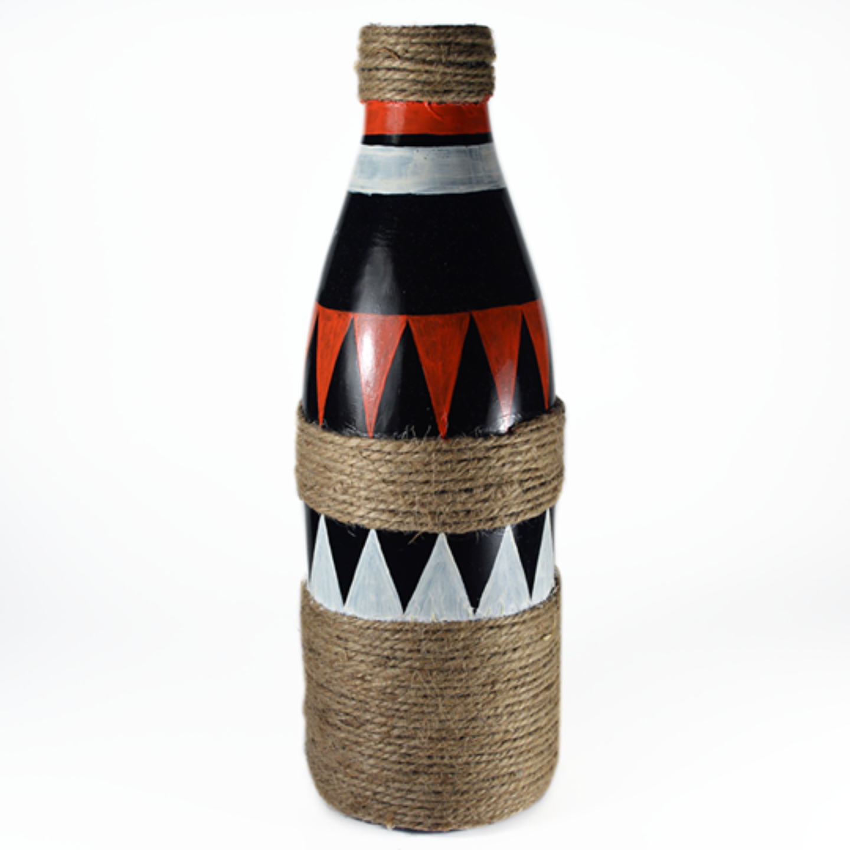 Triangle design bottle