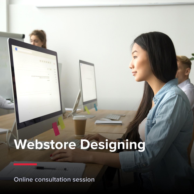 Webstore designing