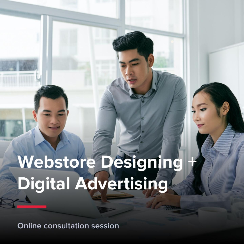 Bundle Package 2 - Webstore designing + Digital Advertising