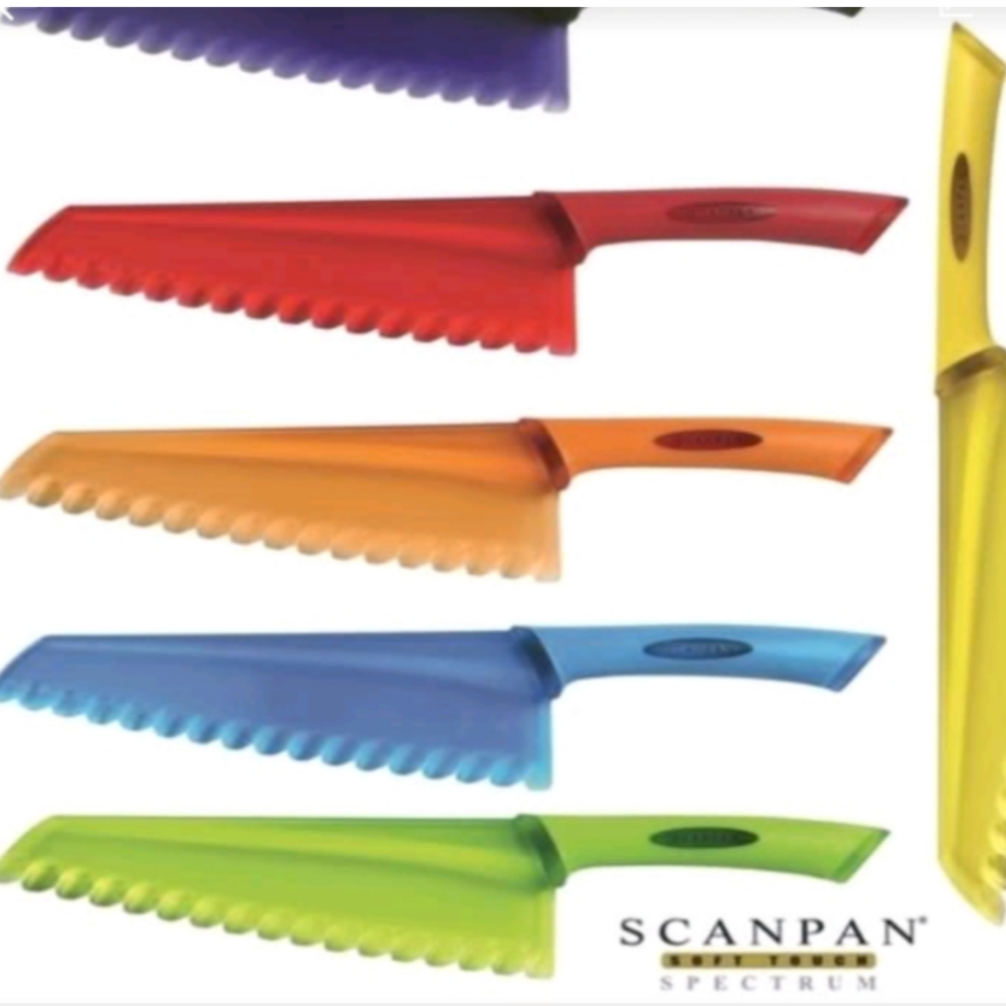 Scanpan salad and vegetables knife